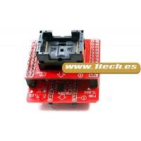 Adaptador TSOP 32/40/48 + Modulo base para TL866CS