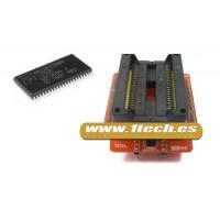 Adaptador SOP44 PSOP44 + Modulo base para programadores eprom/eeprom/flash TL866CS