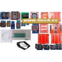 Programador eeprom USB universal TL866CS y 21 adaptadores