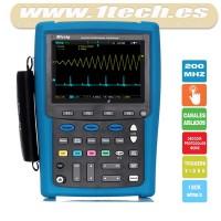 Micsig MS520S 200Mhz Osciloscopio Táctil Portátil