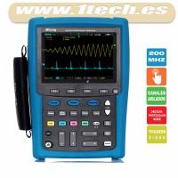 Micsig MS320IT 200Mhz Osciloscopio Táctil Portátil