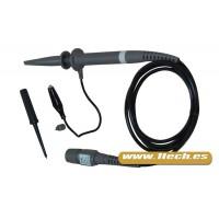 Sonda osciloscopio - Atenuación 100 - 100 MHz