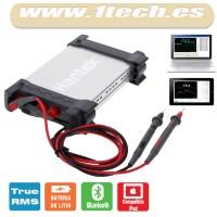 Hantek 365F - Multimetro, datalogger y grabador USB