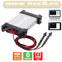 Hantek 365E - Multimetro, datalogger y grabador USB