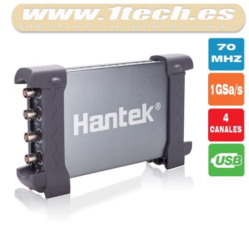 Hantek 6074BE Osciloscopio USB