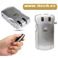 Cerradura Invisible HF010 con 4 mandos a distancia