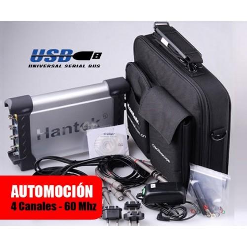 Hantek DSO3064 Osciloscopio Automoción