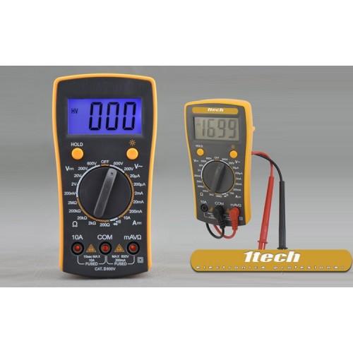 Multimetro retroiluminado VC830L