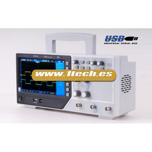 Hantek DSO4102B Osciloscopio