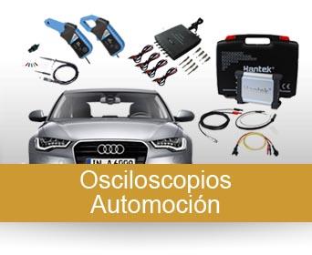 Osciloscopios para Automoción