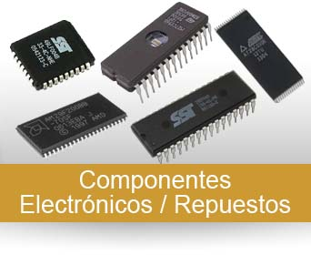 Componentes electrónicos y recambios