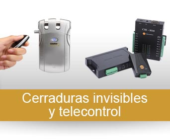 Cerraduras invisibles y telecontrol