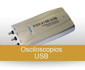 Osciloscopios USB