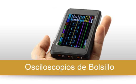 Osciloscopios Portátiles de Bolsillo