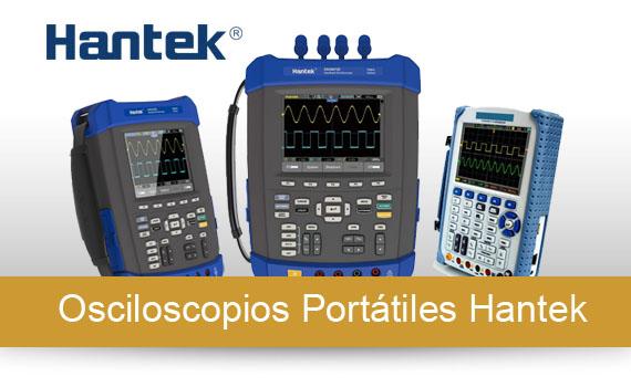 Osciloscopios Portátiles Hantek