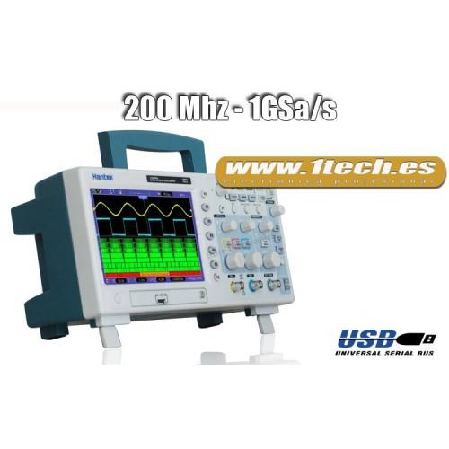 Hantek DSO5202BMV Osciloscopio sobremesa