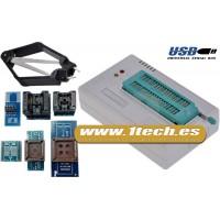 TL866CS Programador USB universal y adaptadores