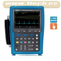 Micsig MS210T 100Mhz Osciloscopio Táctil Portátil