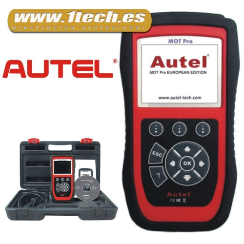 Autel MOT PRO Diagnosis PROFESIONAL OBD2 / CAN