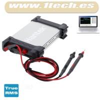 Hantek 365B - Multimetro, datalogger y grabador USB