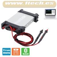 Hantek 365D - Multimetro, datalogger y grabador USB