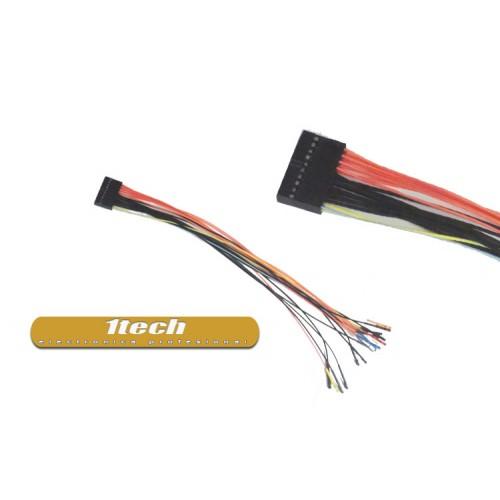 Conector 20 pines con cable para generadores digitales