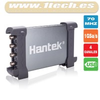 Hantek 6074BE Osciloscopio USB