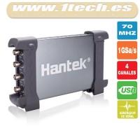 Hantek 6074BD Osciloscopio y generador de señal