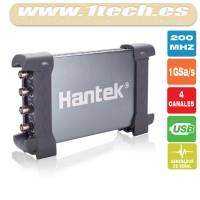 Hantek 6204BD Osciloscopio y Generador de Señales