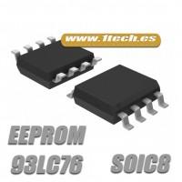 Memoria 93LC76 EEPROM (SOIC8)