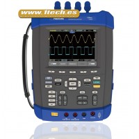 Hantek DSO 8202E Osciloscopio Portatil 6 en 1 Protección IP51 con Generador de Señales