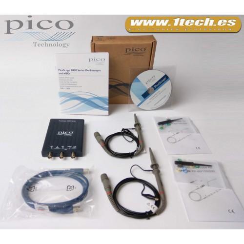 Osciloscopio PICO 2204A Automoción Versión Basica
