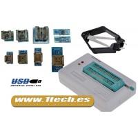 Programador eeprom USB universal TL866CS y 8 adaptadores