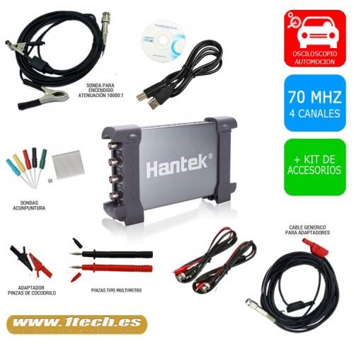 Osciloscopio Automoción BASICO - Hantek 6074BE