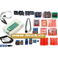 Programador eeprom USB universal TL866II PLUS y 24 adaptadores