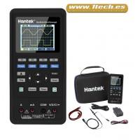 Hantek 2C72 Osciloscopio Portatil Mini con Multimetro