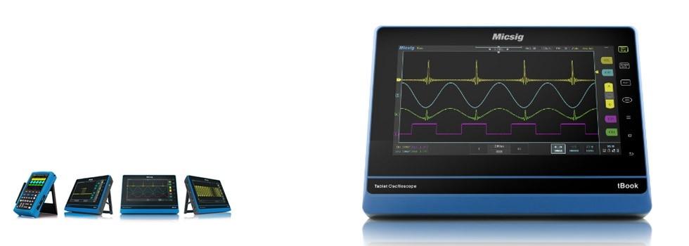 Nuevos Osciloscopios Táctiles Micsig