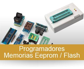 PROGRAMADORES  EEPROM / EPROM / FLASH, KITs,  Zocalos y accesorios