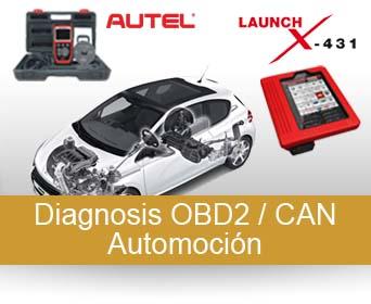 Diagnosis OBD2 / CAN Automoción