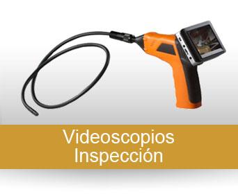 Inspección, videoscopios, microscopios, etc