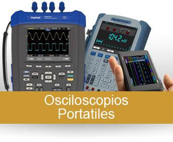 Osciloscopios portatiles