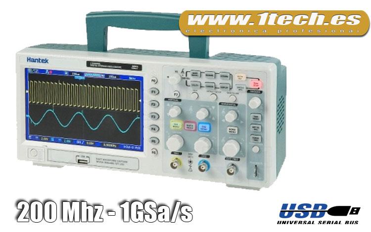 Osciloscopio 200 MHZ - www.1tech.es