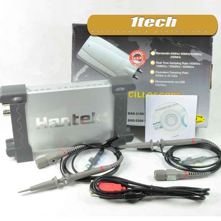 Hantek 6022BE Osciloscopio USB - www.1tech.es