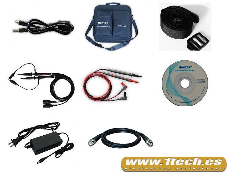 Osciloscopio portatil 8202E - www.1tech.es