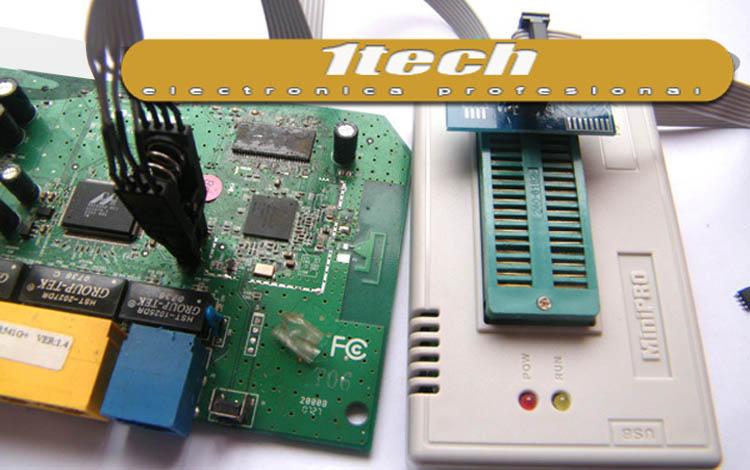 Programador TL866II PLUS con ICSP y 24 adaptadores