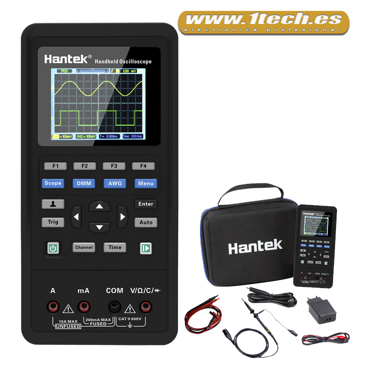 Mini Osciloscopio portatil Hantek 2D42