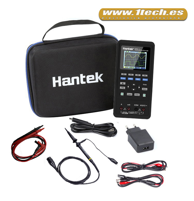 Mini Osciloscopio portatil Hantek 2D72